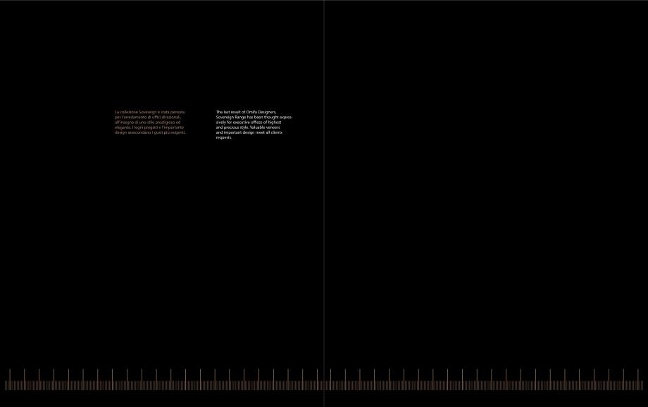 Pagina 2 - Mobilier pentru birouri OMIFA SOVEREIGN Catalog, brosura Engleza, Italiana izza i piani e...