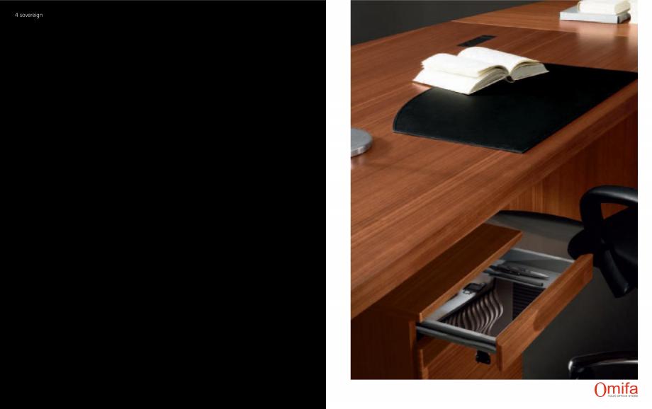Pagina 3 - Mobilier pentru birouri OMIFA SOVEREIGN Catalog, brosura Engleza, Italiana  rotondo con...