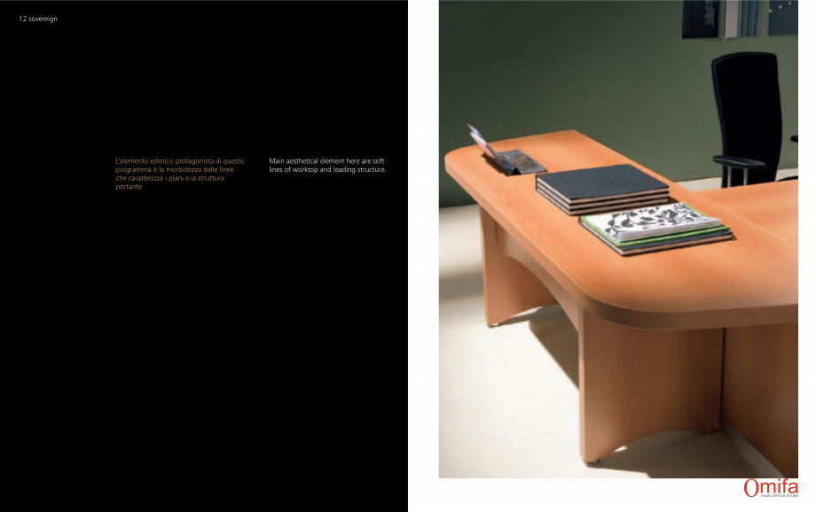 Pagina 7 - Mobilier pentru birouri OMIFA SOVEREIGN Catalog, brosura Engleza, Italiana