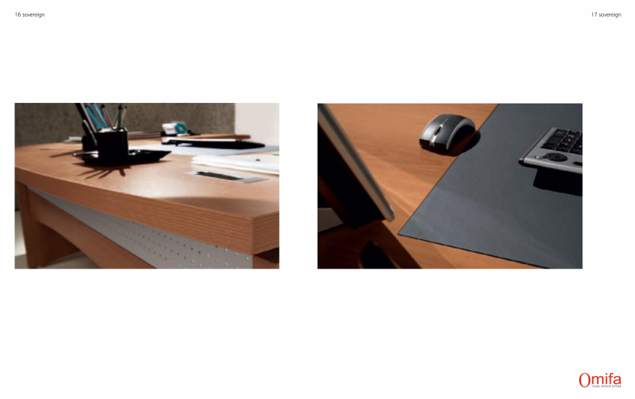 Pagina 9 - Mobilier pentru birouri OMIFA SOVEREIGN Catalog, brosura Engleza, Italiana