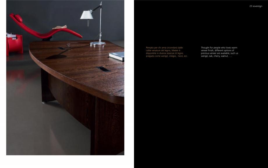 Pagina 12 - Mobilier pentru birouri OMIFA SOVEREIGN Catalog, brosura Engleza, Italiana