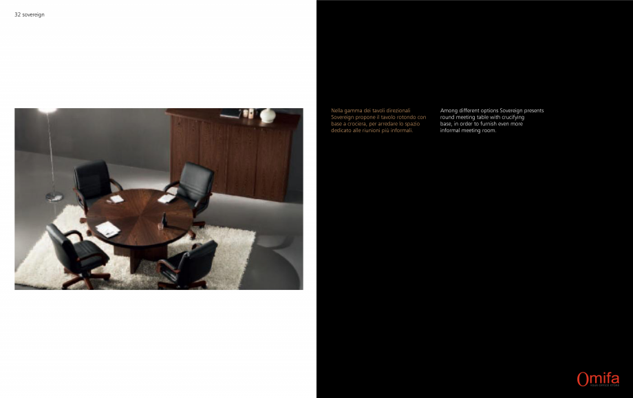 Pagina 17 - Mobilier pentru birouri OMIFA SOVEREIGN Catalog, brosura Engleza, Italiana