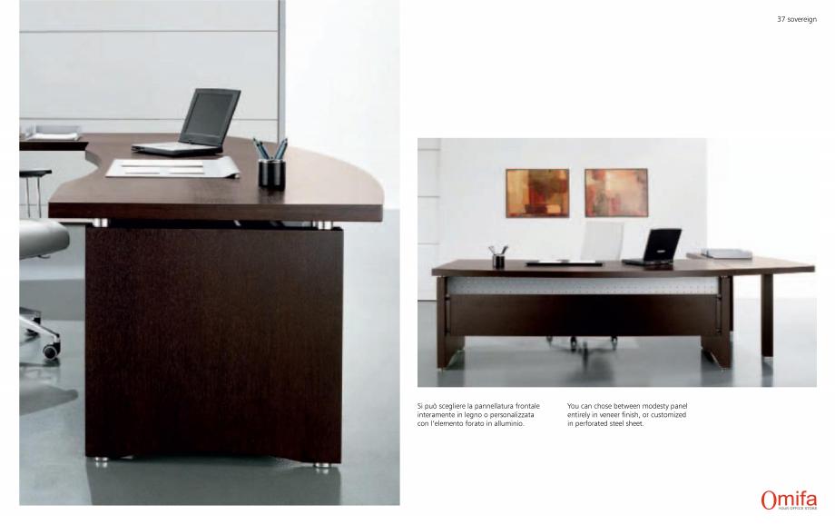 Pagina 19 - Mobilier pentru birouri OMIFA SOVEREIGN Catalog, brosura Engleza, Italiana