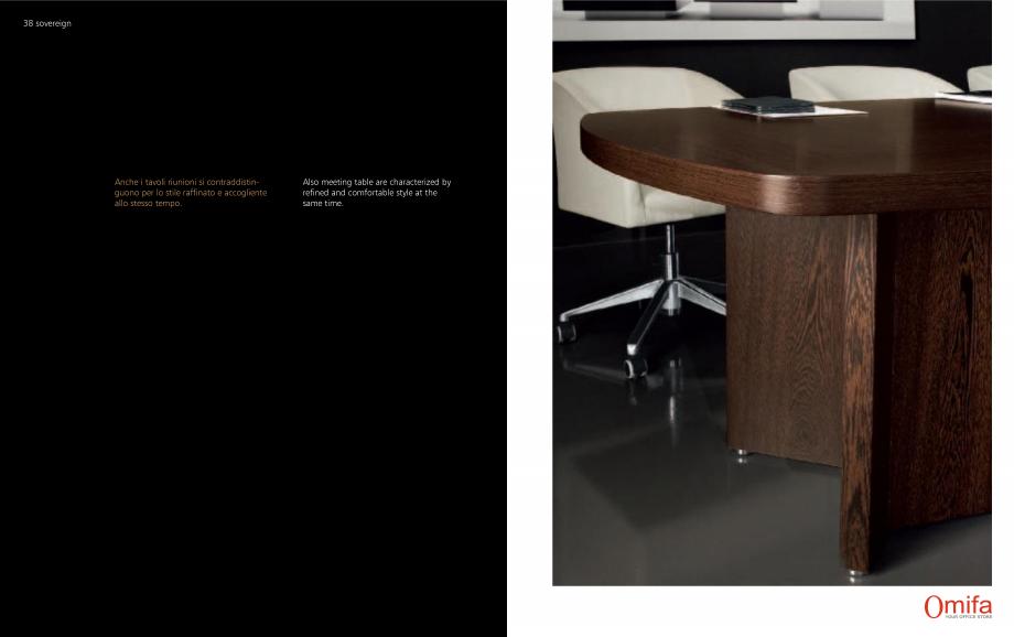 Pagina 20 - Mobilier pentru birouri OMIFA SOVEREIGN Catalog, brosura Engleza, Italiana