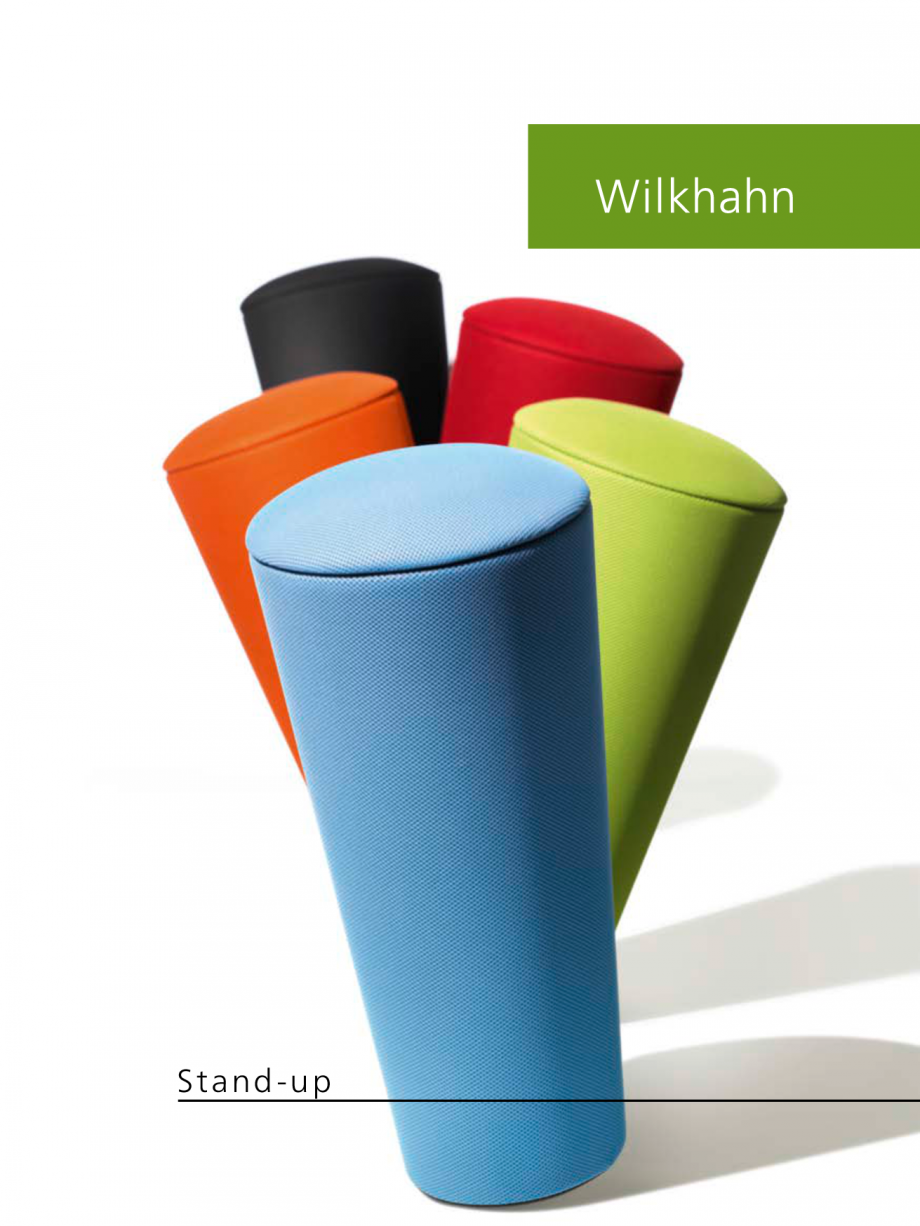 Pagina 1 - Scaune Wilkhahn Stand-up Catalog, brosura Engleza St and-up  Stand-up – a stylish and ...