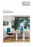 Masa pentru birou SEDUS - TEMPTATION C Single