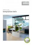 Masa pentru birou SEDUS - TEMPTATION TWIN