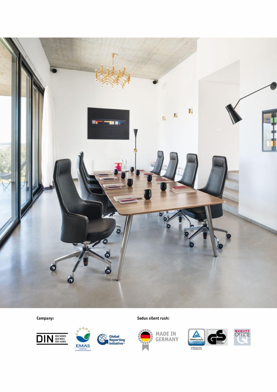 catalog brosura scaune de birou pivotante scaune pentru. Black Bedroom Furniture Sets. Home Design Ideas