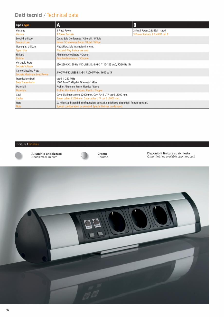 Pagina 3 - Sistem de birou ASA VersaTop Fisa tehnica Engleza es available upon request  Versione...