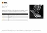 Sistem de ridicare a monitorului ASA
