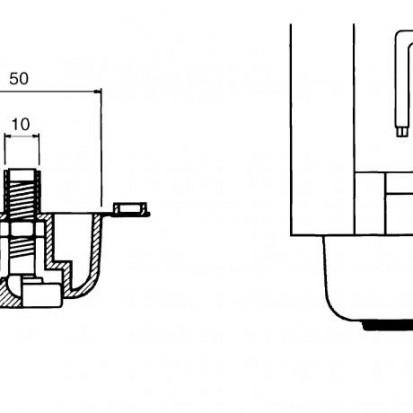 Piciorus reglabil pentru dulapuri Serie 20/25  Serie 20/25 Piciorus reglabil pentru dulapuri