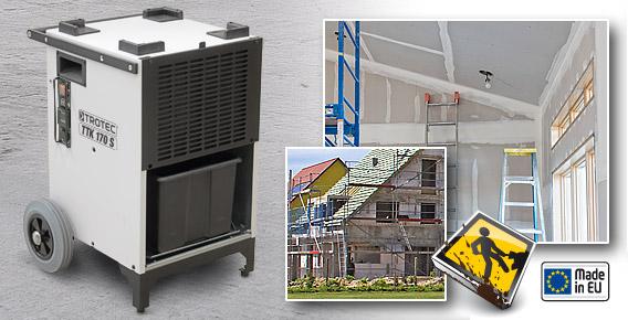 Dezumidificator profesional TTK 170 TROTEC Germany - Poza 2