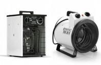 Aeroterme electrice pentru santiere, garaje, ateliere de lucru, subsoluri TROTEC Germany