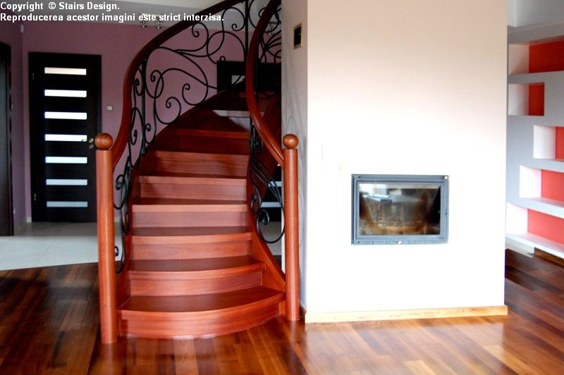 Scara din lemn - SD 1 STAIRS DESIGN - Poza 1