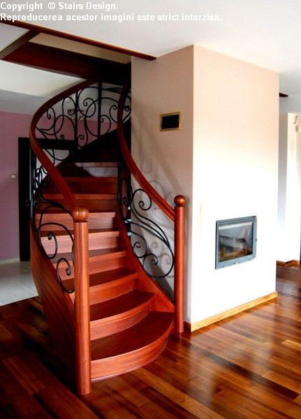 Scara din lemn - SD 1 STAIRS DESIGN - Poza 3