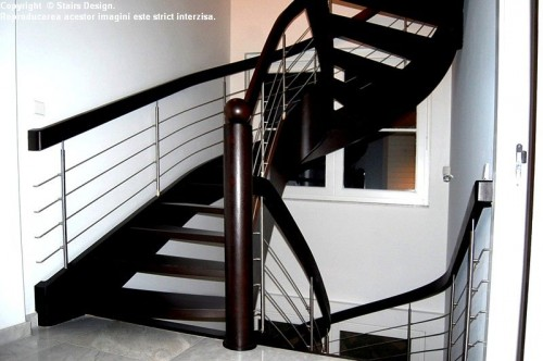 Scara din lemn - SD 3 STAIRS DESIGN - Poza 2