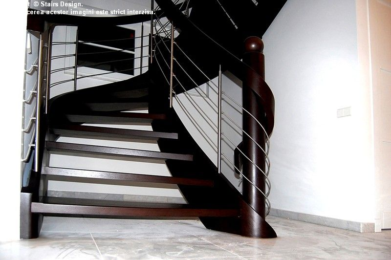 Scara din lemn - SD 3 STAIRS DESIGN - Poza 3