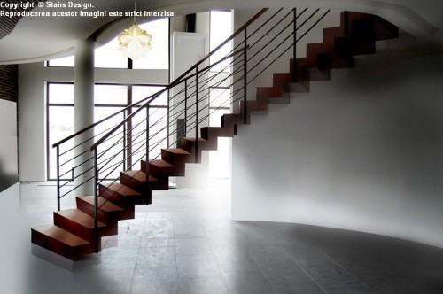Exemple de utilizare Scara din lemn - SD 4 STAIRS DESIGN - Poza 2
