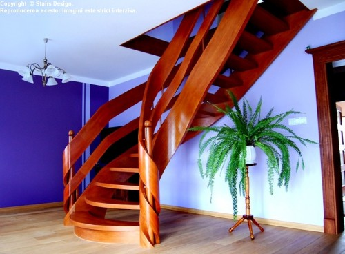 Scara din lemn - SD 5 STAIRS DESIGN - Poza 1