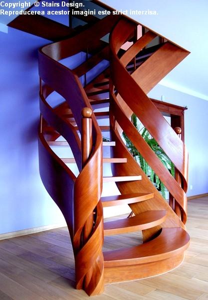 Scara din lemn - SD 5 STAIRS DESIGN - Poza 3