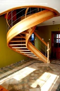 Exemple de utilizare Scara din lemn - SD 8 STAIRS DESIGN - Poza 1