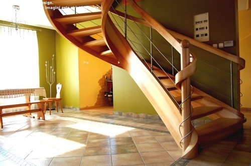 Scara din lemn - SD 8 STAIRS DESIGN - Poza 2