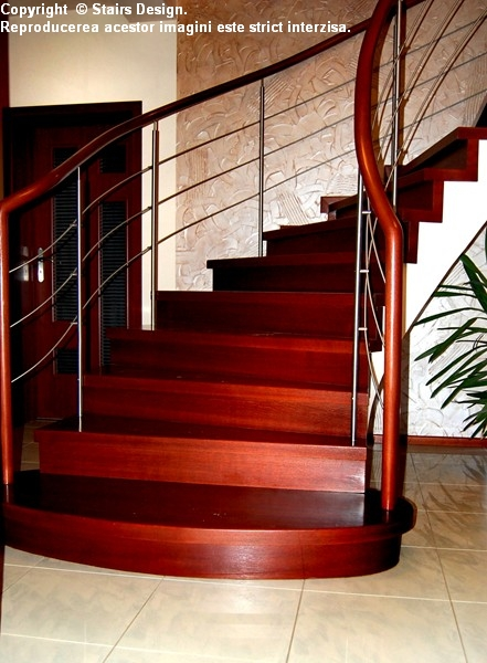 Scara din lemn - SD 9 STAIRS DESIGN - Poza 1