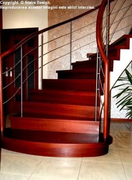 Exemple de utilizare Scara din lemn - SD 9 STAIRS DESIGN - Poza 1