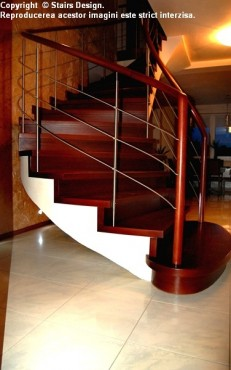 Scara din lemn - SD 9 STAIRS DESIGN - Poza 2