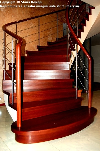 Scara din lemn - SD 9 STAIRS DESIGN - Poza 3