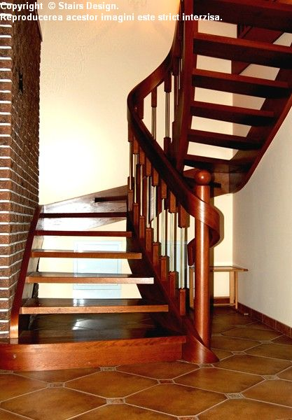Scara din lemn - SD 10 STAIRS DESIGN - Poza 2