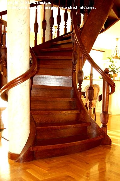 Scara din lemn - SD 11 STAIRS DESIGN - Poza 2