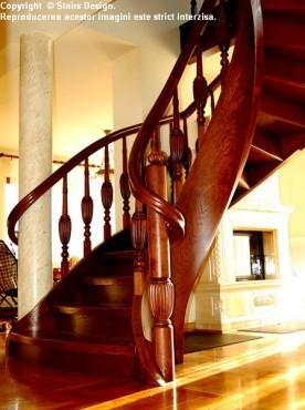 Exemple de utilizare Scara din lemn - SD 11 STAIRS DESIGN - Poza 3