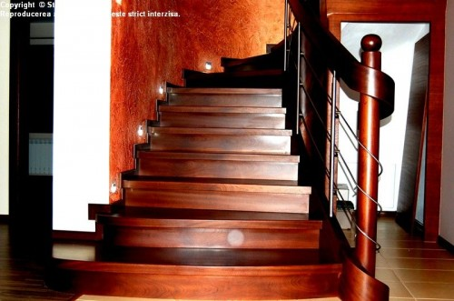 Scara din lemn - SD 12 STAIRS DESIGN - Poza 3
