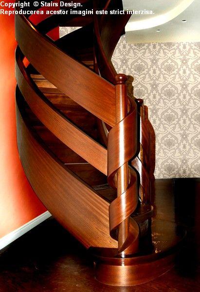 Scara din lemn - SD 15 / Scara din lemn - SD 15a