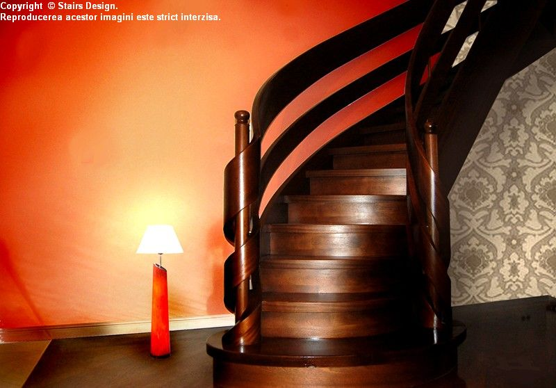 Scara din lemn - SD 15 STAIRS DESIGN - Poza 2