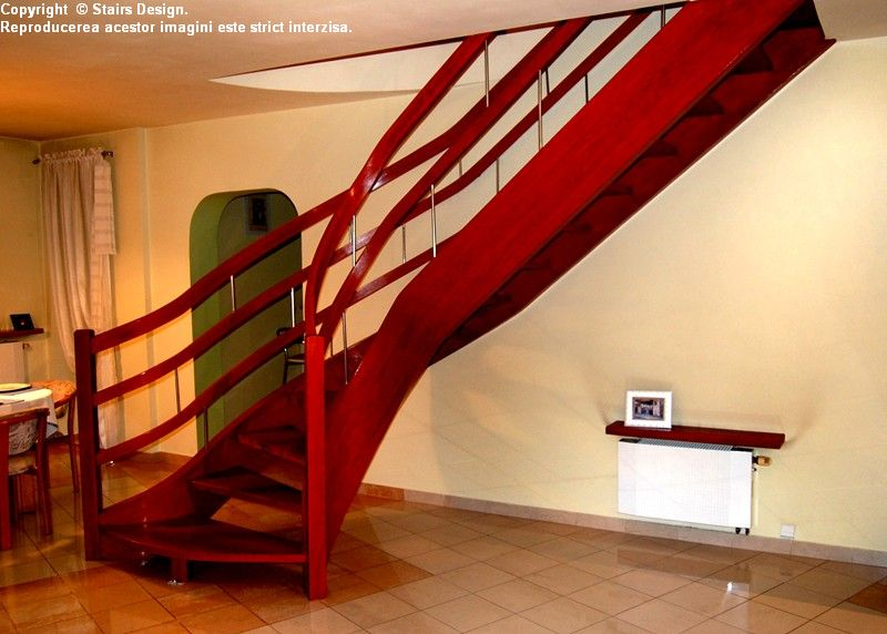 Scara din lemn - SD 17 STAIRS DESIGN - Poza 1
