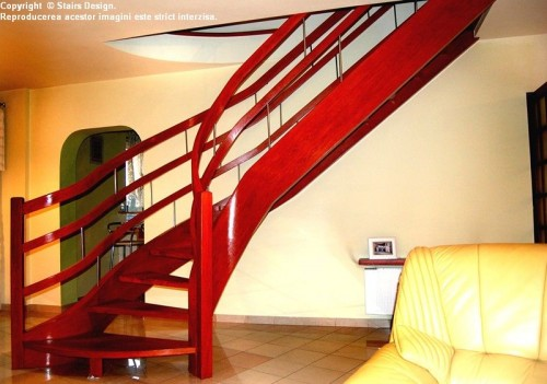 Scara din lemn - SD 17 STAIRS DESIGN - Poza 3
