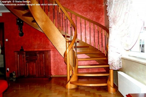 Scara din lemn - SD 18 STAIRS DESIGN - Poza 2