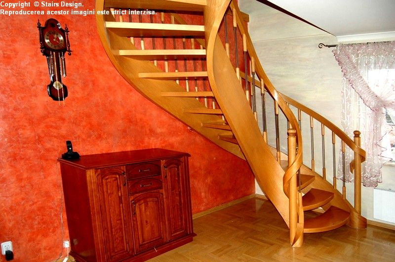 Scara din lemn - SD 18 STAIRS DESIGN - Poza 3