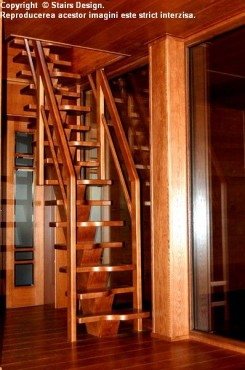 Scara din lemn - SD 19 STAIRS DESIGN - Poza 2