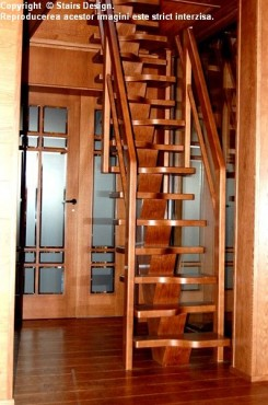 Scara din lemn - SD 19 STAIRS DESIGN - Poza 3