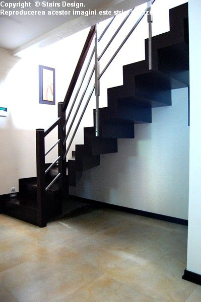 Scara din lemn - SD 23 STAIRS DESIGN - Poza 2