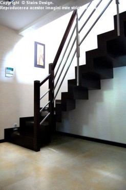Scara din lemn - SD 23 STAIRS DESIGN - Poza 3