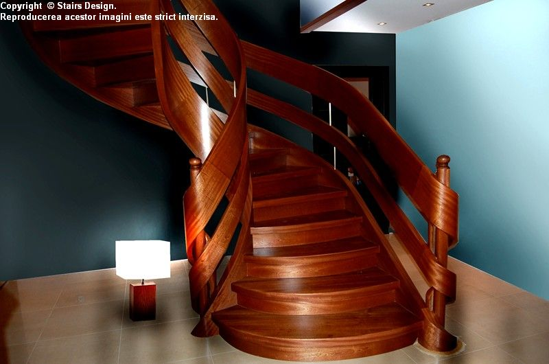 Scara din lemn - SD 24 STAIRS DESIGN - Poza 1