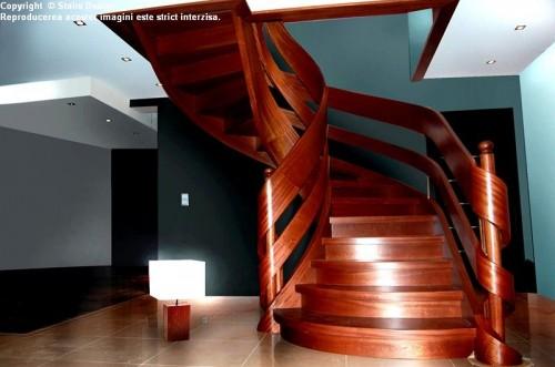 Scara din lemn - SD 24 STAIRS DESIGN - Poza 2