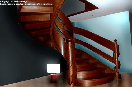Scara din lemn - SD 24 STAIRS DESIGN - Poza 3