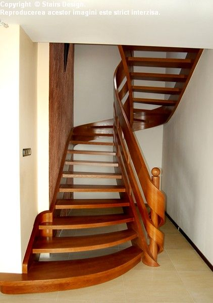 Scara din lemn - SD 25 STAIRS DESIGN - Poza 1