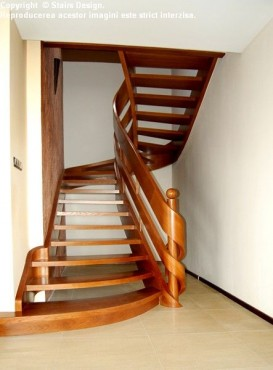 Scara din lemn - SD 25 STAIRS DESIGN - Poza 2