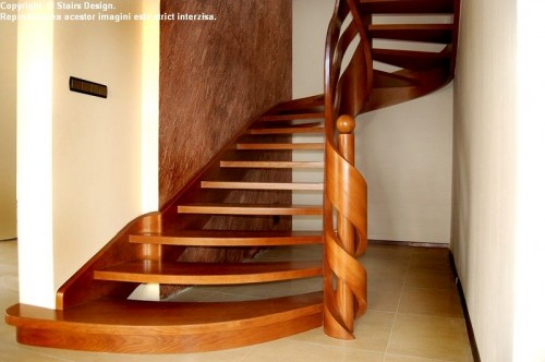 Scara din lemn - SD 25 STAIRS DESIGN - Poza 3